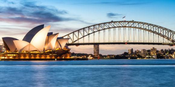 připojení aplikace Austrálie Austrálie